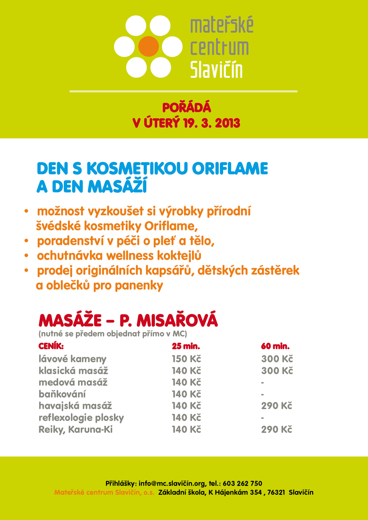 906236edb30 Mateřské centrum Slavičín